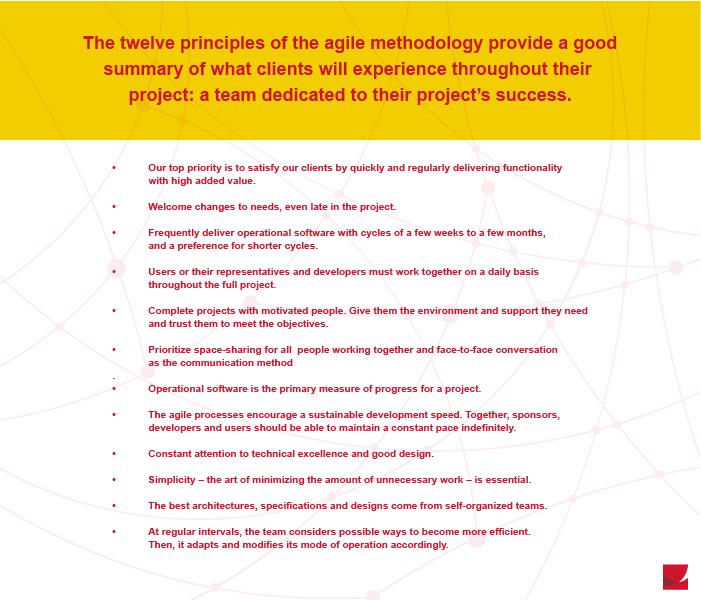 Agile methodology - Openmind